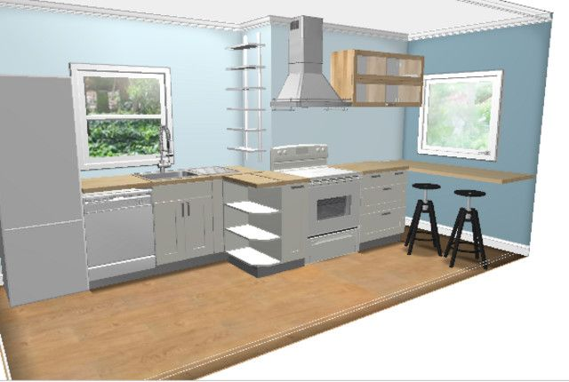 apartment-size appliances/layout - Kitchens Forum ...