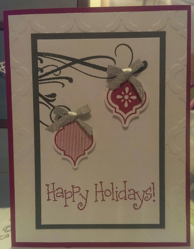 Stampin up Happy Holidays