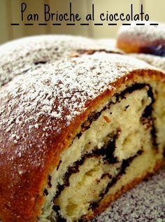 Pan brioche al cioccolato per la prima colazione