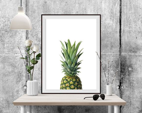 You are searching for the perfect decoration touch to any home or office ? This Printable Art is a tropical downloadable print featuring a cute pineapple.