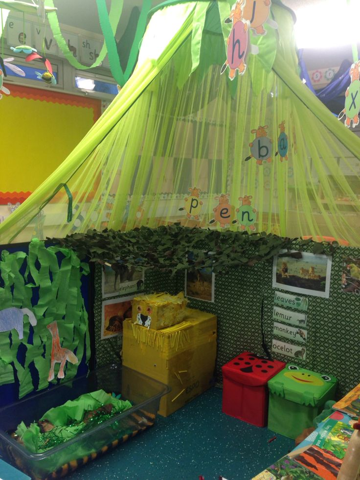 The Enchanted Forest - New role play area in my EYFS classroom.