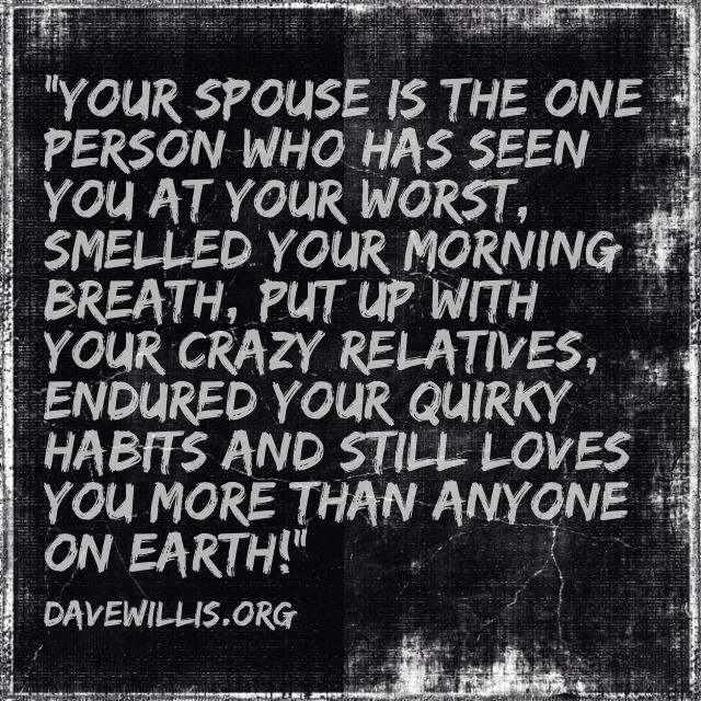 dave willis davewillis.org funny marriage spouse quote