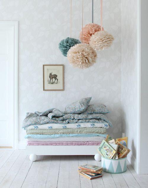 Love this pastel color scheme