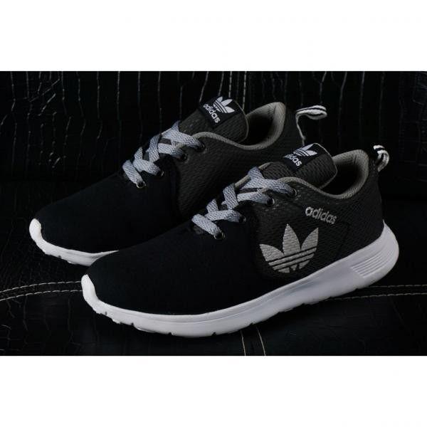 Saya Menjual Sepatu Running Pria Adidas Tricot Black Grey