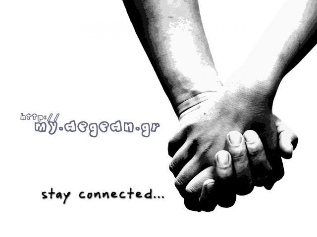 """stay connected""  -  ✌️ http://www.myaegean.gr    #MyAegean #Community #Connecting #Aegean #Sea"