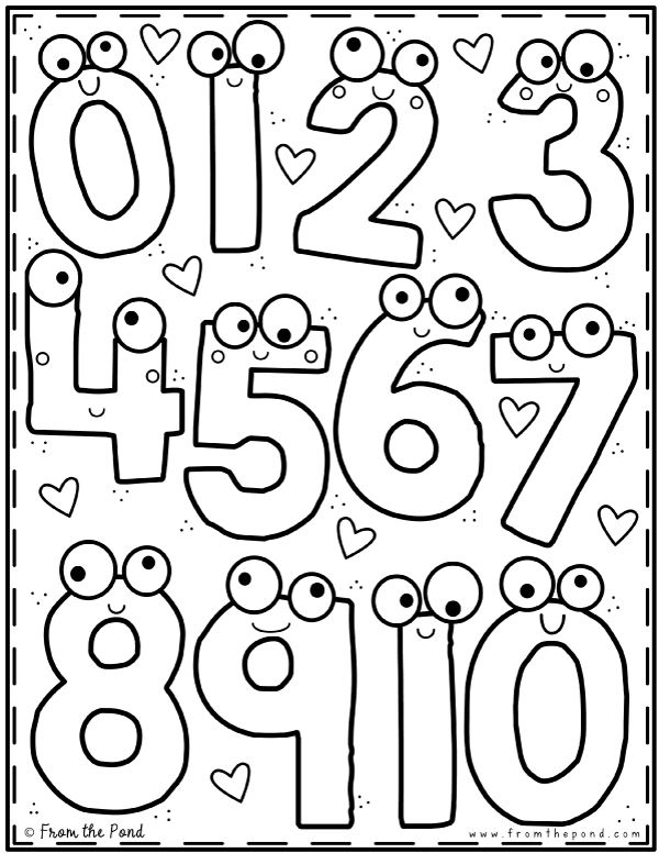Coloring Club From The Pond Kindergarten Coloring Pages Preschool Coloring Pages From The Pond