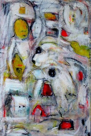 """Saatchi Art Artist Vanda Parker; Drawing, """"HI THERE"""" #art"""