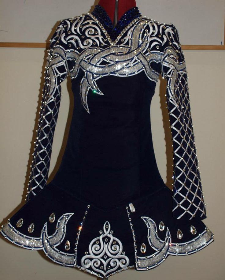 Celtic Designs On Solo Dresses