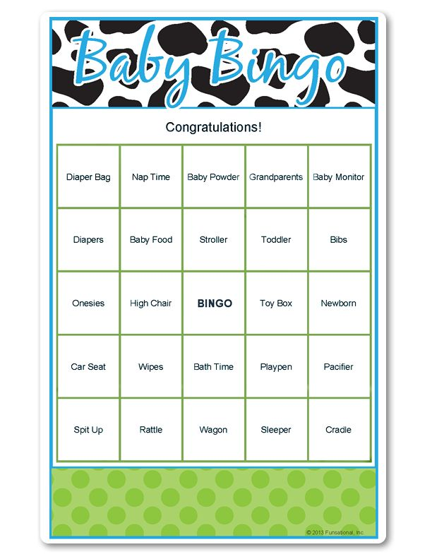 popular baby shower game here it is for a boys baby shower games