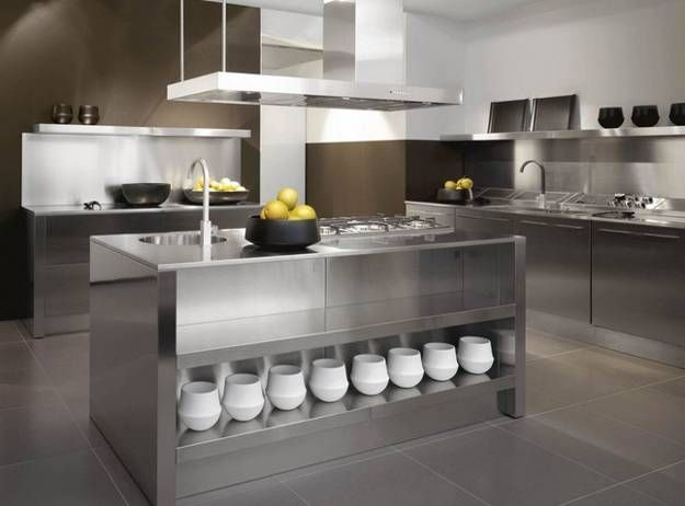 best 25+ contemporary stainless kitchens ideas only on pinterest