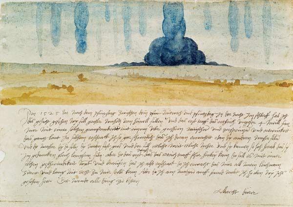 Albrecht Dürer-Dream face