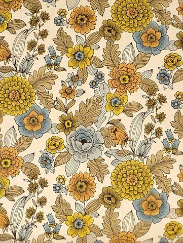 Original retro wallpaper & vinyl wallcovering from the sixties & seventies  - A unique collection of original 1950's to 1980's wallpapers fo...