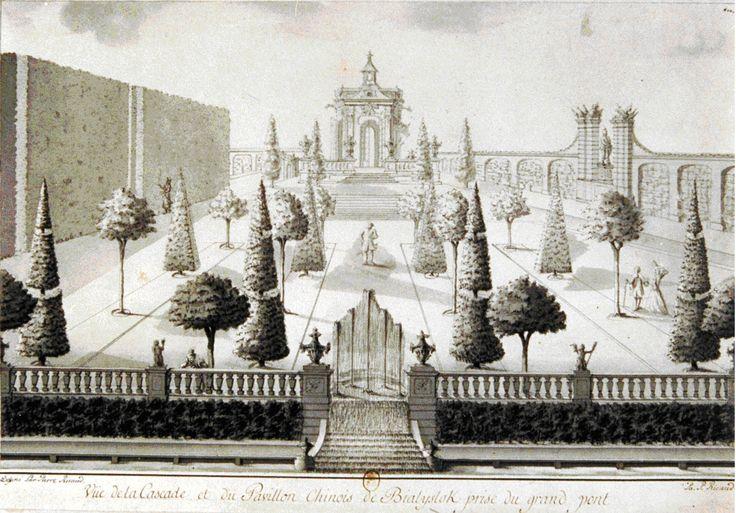 Chinese House in Branicki Palace gardens in Białystok. 1750s Pierre Ricaud de Tirregaille