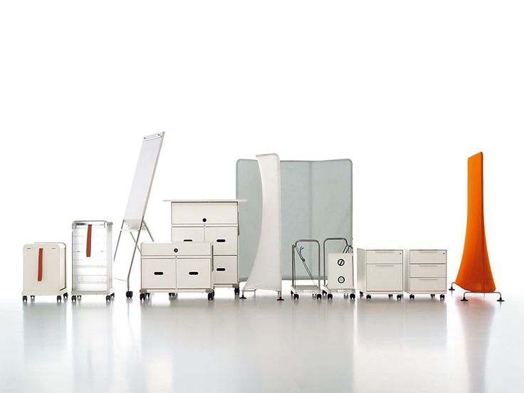 Office workstation MOBILE ELEMENTS by Vitra design Antonio Citterio, Toan Nguyen