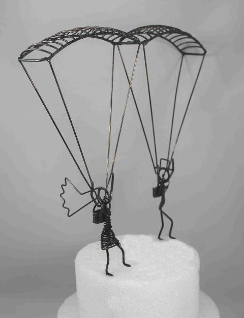 skydiving cake topper enchanted beginnings pinterest