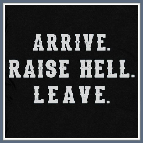 Arrive Raise Hell Leave T Shirt Funny Wrestling Stone Cold WWF Steve Austin Tee Shirt on Etsy, $12.00
