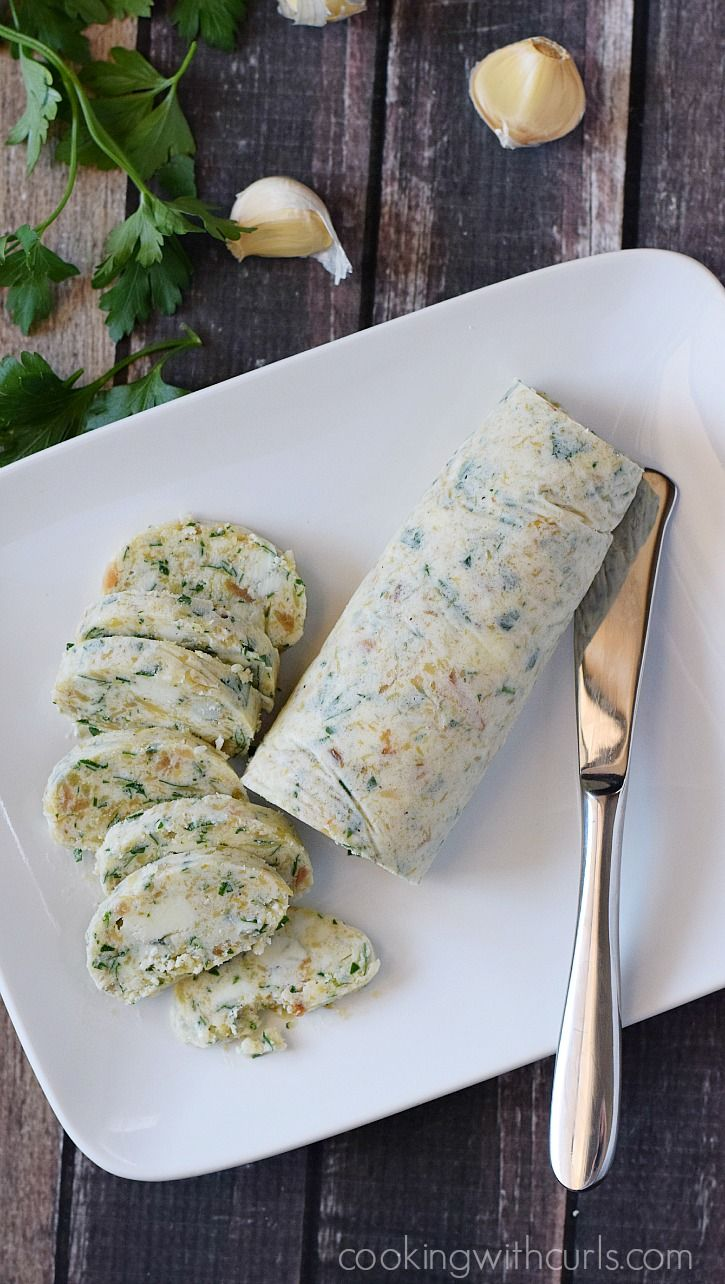 Take your steak to a whole new level by adding some Gorgonzola Butter   cookingwithcurls.com