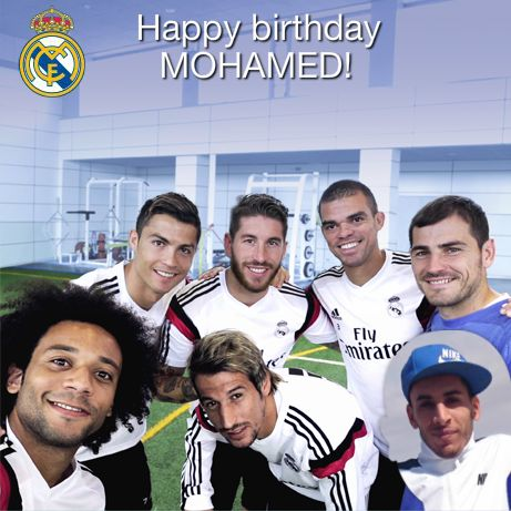 From Real Madrid To Me