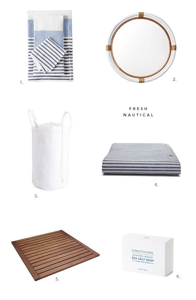 The Best Nautical Bathroom Accessories Ideas On Pinterest
