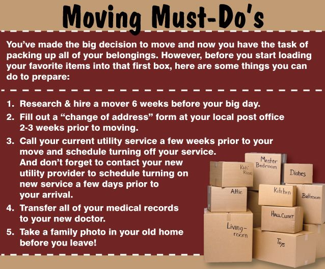 21 best eInvite Moving Must-Dou0027s images on Pinterest Moving - official change of address form