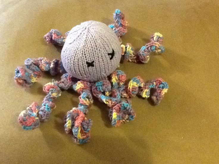 Octavia the octopus for babies