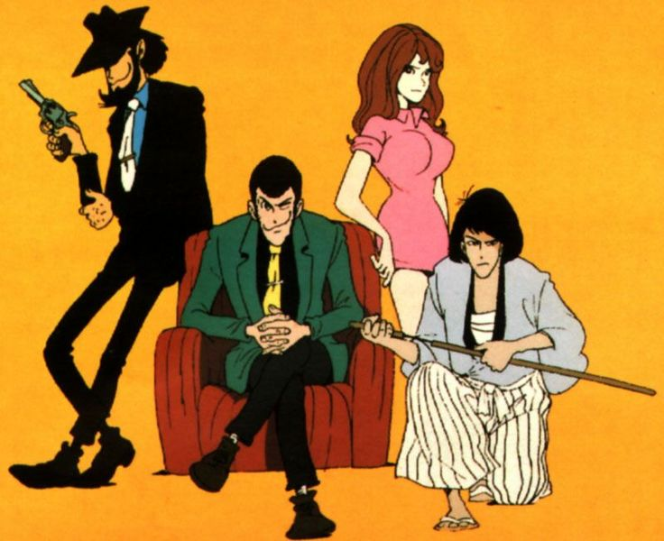 "Lupin III! ""It's like Disneyland for adults!"""