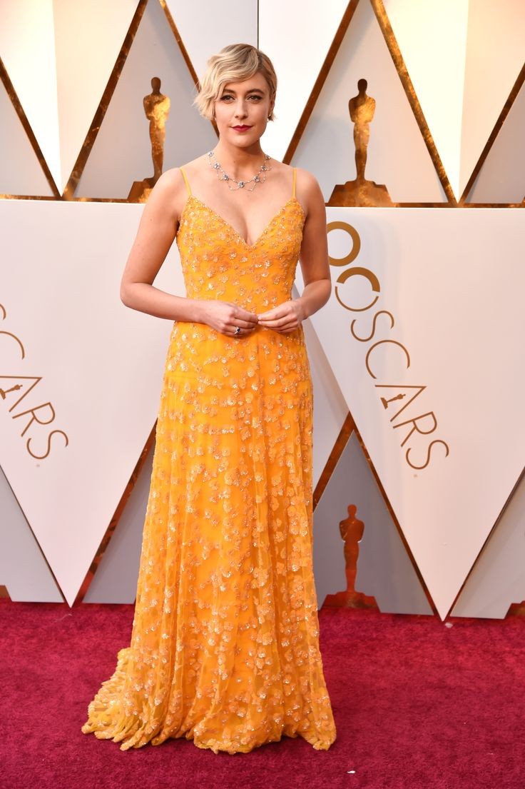 Oscars 2018: The Story of Saoirse Ronan's Calvin Klein By Appointment Red Carpet Dress