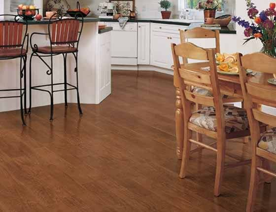 vinyl is a most popular kitchen flooring choice but if even one tile is damaged