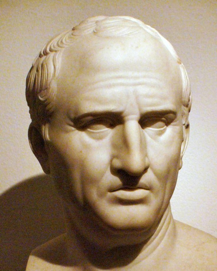CICERÓN (106-43 a. C.) Marco Tulio Cicerón. Jurista, político, filósofo, escritor y orador romano. Considerado uno de los más grandes retóricos y estilistas de la prosa en latín de la República romana.