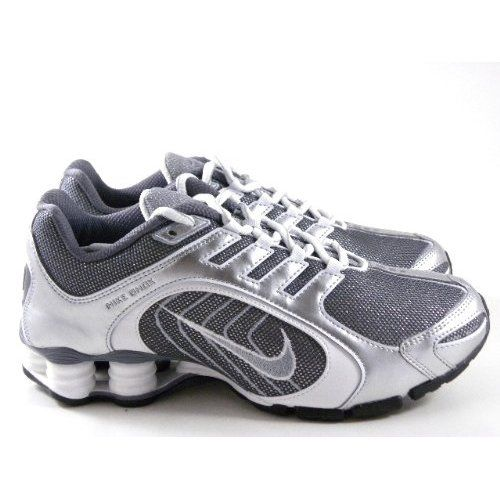 wholesale dealer 62a9f 489db ... nike shox navina premium silver sparkle white running women shoes these  are my ...