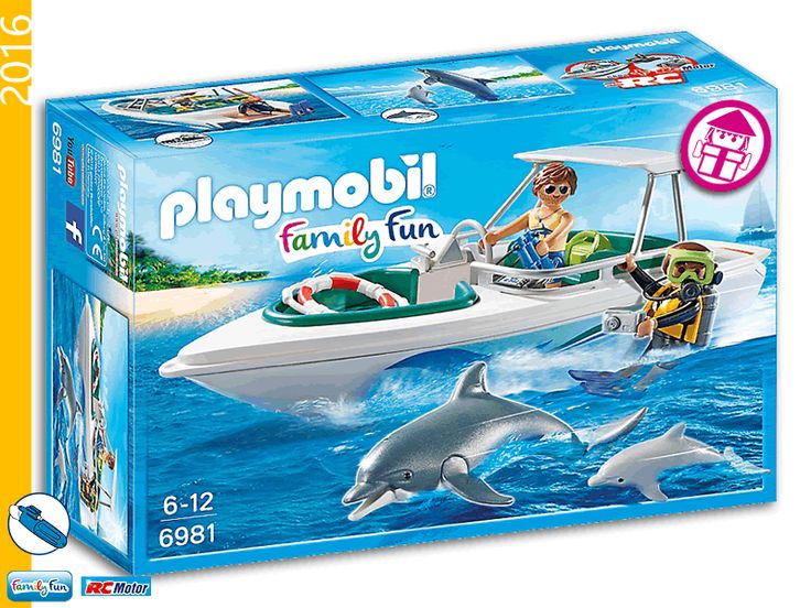PLAYMOBIL 6981 Diving Trip with Sport Boat