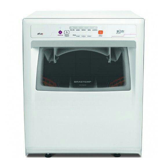 EletrodomésticosLava Louças  Lava-Louças Brastemp Ative! BLF08 8 Serviços Branca