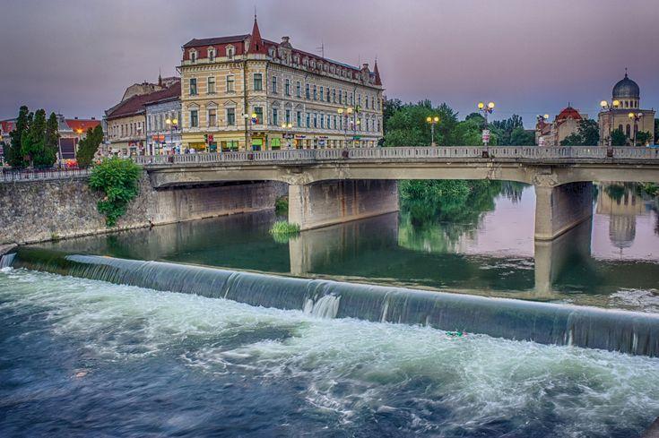 Podul Ferdinand din centru | Oradea in imagini