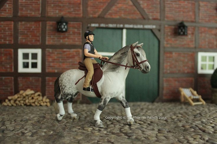 Leisure Riding   by Phoenix Ranch - model horse photography
