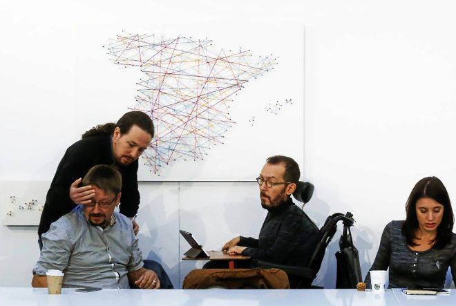 El 'annus horribilis' de Podemos