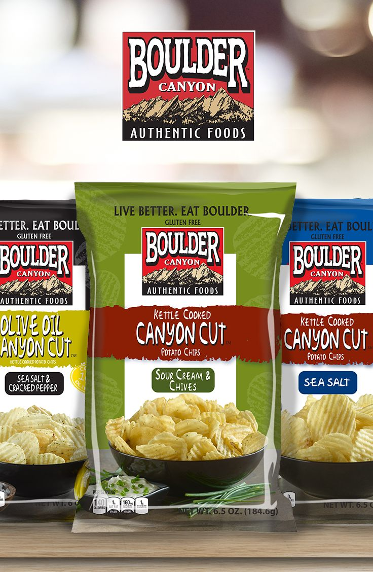 You can enjoy Boulder Canyon chips guilt-free knowing that they are free from trans fat!