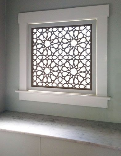Lightwave Laser   Star Pattern Window Panel A Beautiful Alternative To  Blinds