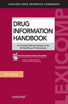 Drug Information HandBook PDF Free Download I 24th Edition ~ MedicoPharmaBooks.Blogspot