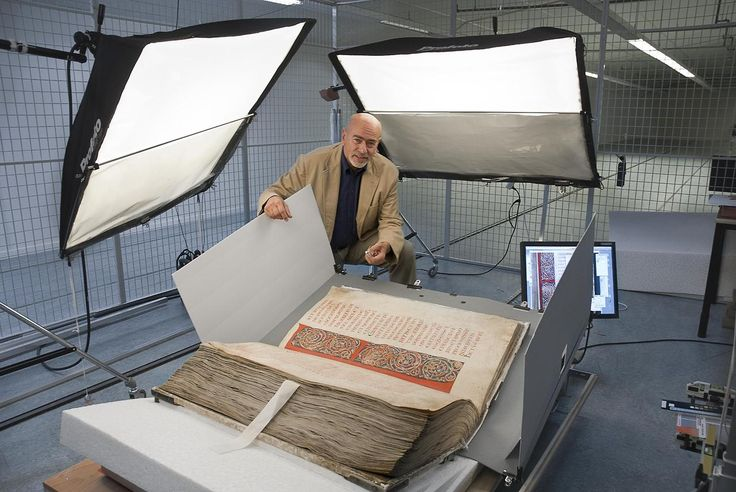 Digitising of the Codex Gigas: Modern technology meets the biggest medieval book in existence today