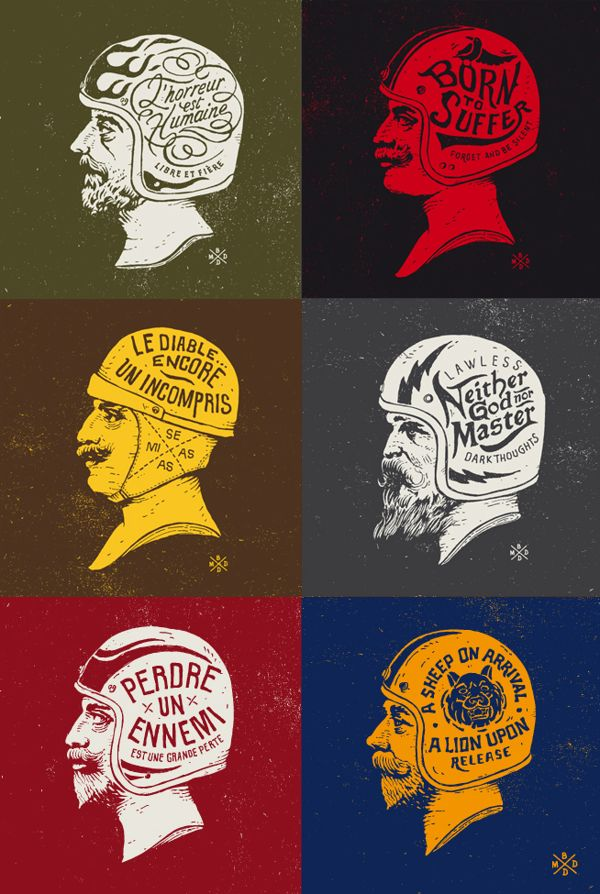 Neither God nor Master by BMD, via Behance