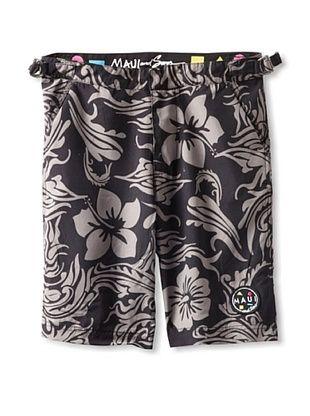 71% OFF Maui & Sons Men's Euro Trunks (Black)