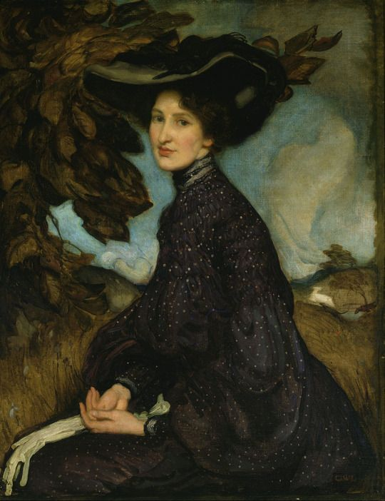 Miss Thea Proctor (1903). George Washington Lambert (Australian, 1873-1930). Oil on canvas. Art Gallery of New South Wales.