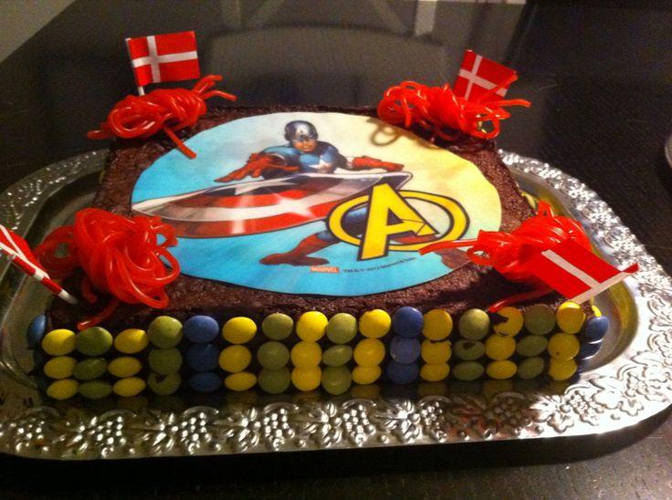 Avengers fødselsdagskage til min søn