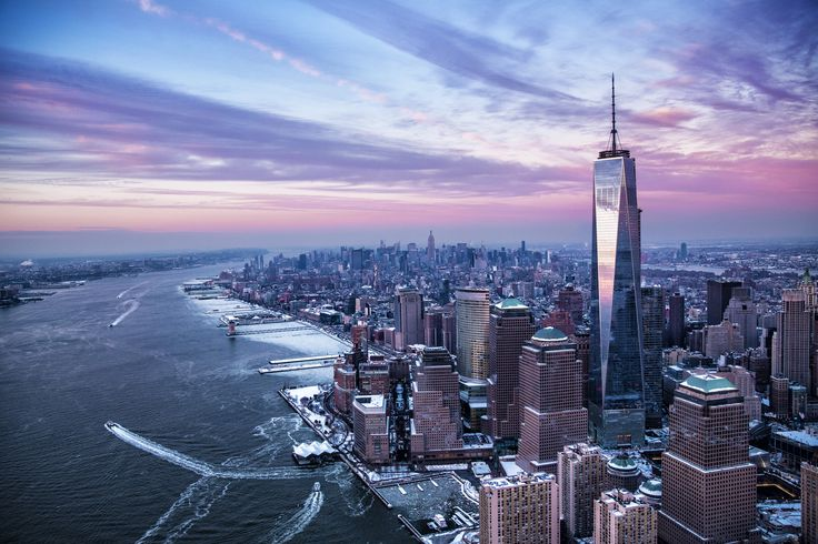 TIME's View From The Top Of NYC ~ After 12 years of anticipation, the tallest skyscraper in the Western Hemisphere is ready for its close-up. How 10,000 workers lifted 104 floors, gave new life to an international symbol and created one spectacular view.