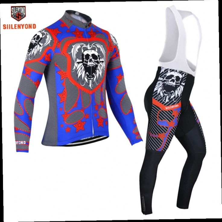 44.99$  Buy here - http://alitr5.worldwells.pw/go.php?t=32729299504 - Siilenyond Abyss Evil Winter Pro Maillot Rock Bicycle Wear/Winter Thermal Fleece Cycling Clothing/Ropa Ciclismo Bike Clothing 44.99$