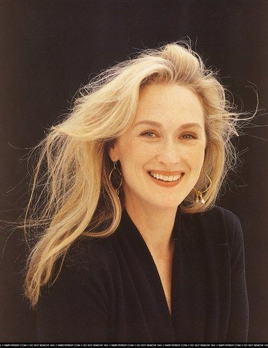 Does it get any better than Meryl Streep?