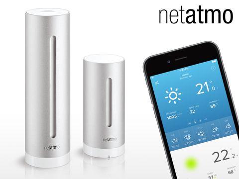 Koti ja puutarha - NetAtmo WiFi Sääasema,
