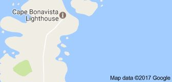 Map of Cape Bonavista