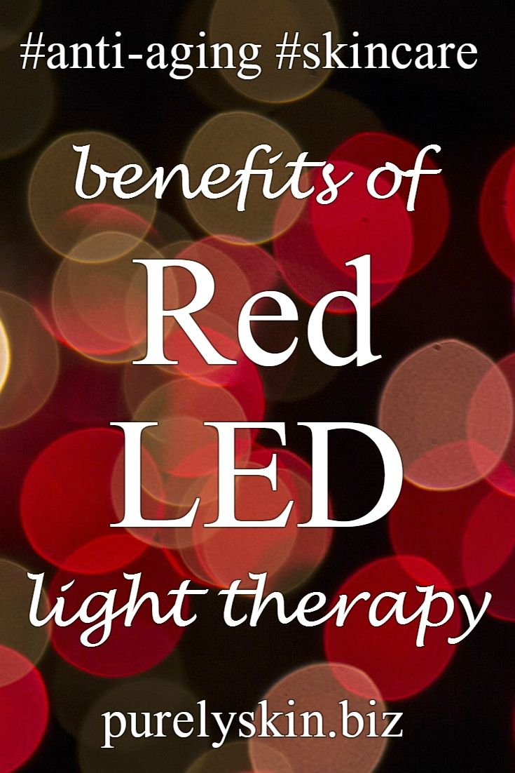 Red LED light therapy for anti-aging skin care at Purely Skin in Dupont, WA http://www.purelyskin.biz/advanced-skin-treatments/led-red-light-therapy/