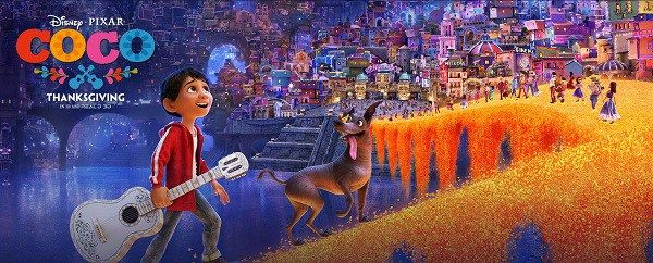 #Coco  Very cute animated film yet with some darkness.  My not more than a one-minute-read movie review and movie rating is posted.  Follow all of my movie reviews via FB M.U.S.E. Enthusiasts and https://museenthusiasts.wordpress.com/